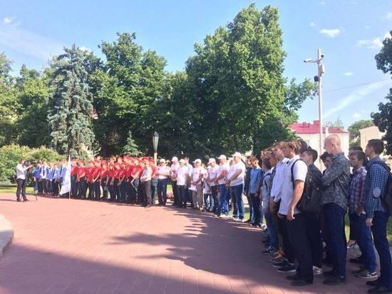 В Тамбове дан старт автопробегу в честь победы в Великой Отечественной войне
