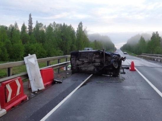Водитель едва не угробил непристёгнутых детей в аварии под Вельском