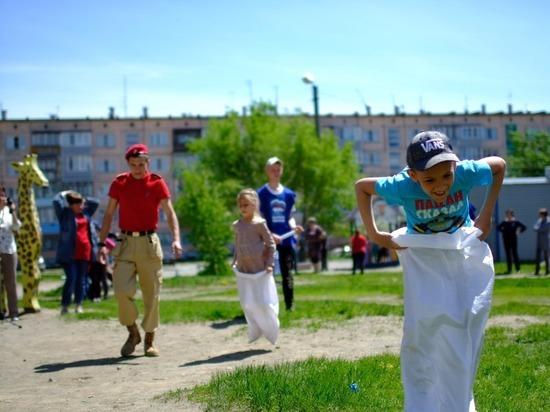 В Алтайском крае продолжается реализация проекта «Детский спорт»