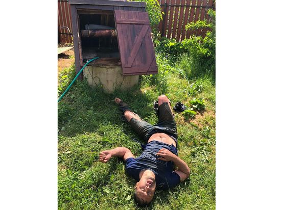 В Новой Москве нарушитель спрятался от полицейских в колодце