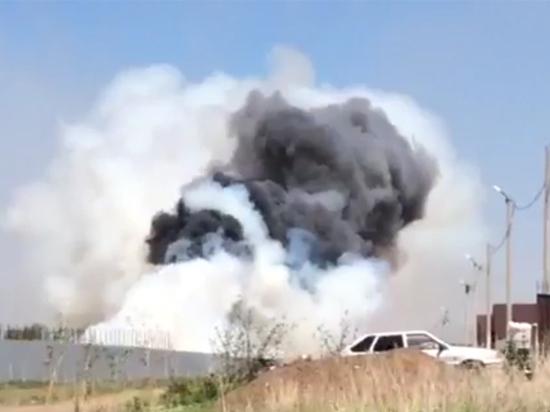 Огонь в Подгородней Покровке распространялся со скоростью ветра