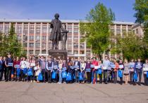 Руководство АлтГТУ встретилось с победителями и призерами школьных олимпиад
