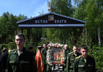 Традиционный крестный ход в Тверской области продлится месяц