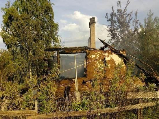 В Грачевском районе на пожаре пострадали люди