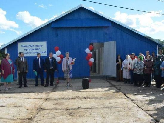 В Костромской области построили новую ферму