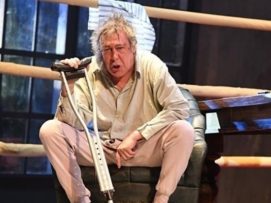Актер Михаил Ефремов считает, что его подставили на спектакле в Самаре