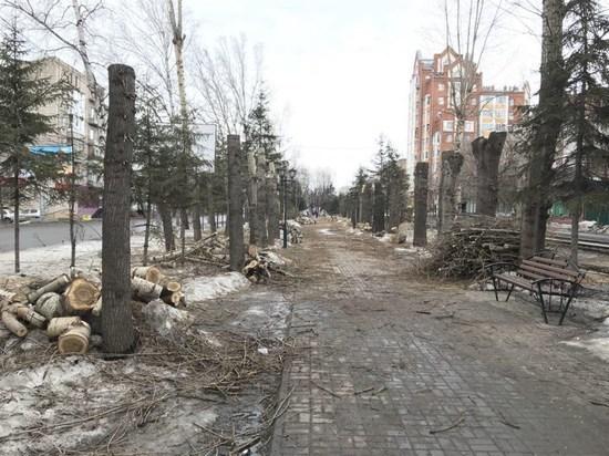 Озеленение бульвара Кирова обойдется в 50 миллионов рублей