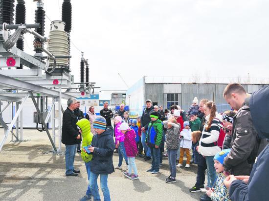Энергетики МЭС Западной Сибири провели длядетворы  познавательное мероприятие