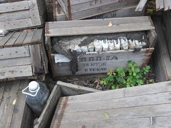 На Бревеннике из сгоревшего административного здания разворовали опасные ящики