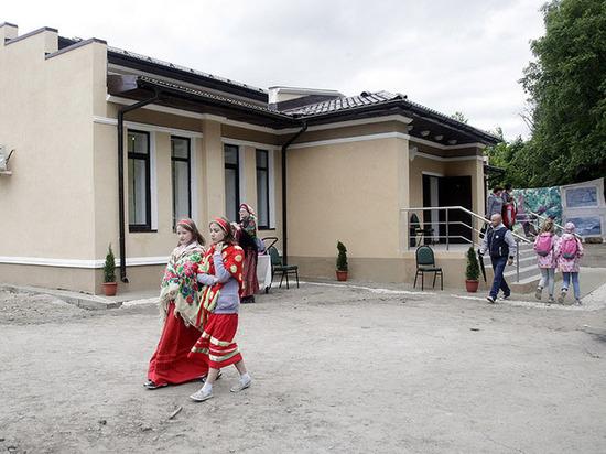 В Тульской области на месте усадьбы Буниных открыли новый ДК