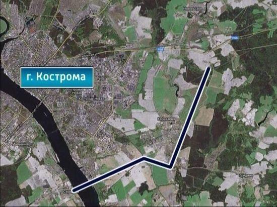 Под строительство автодороги в обход Костромы и второго моста зарезервировали участки
