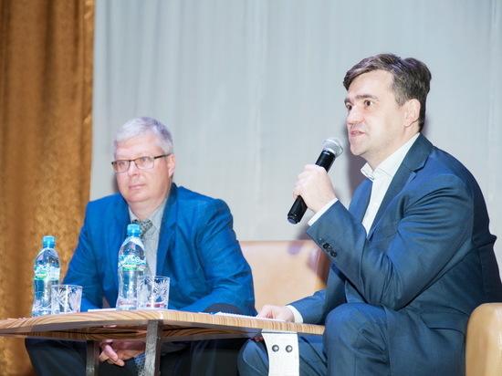 Станислав Воскресенский  встретился с жителями Южского района