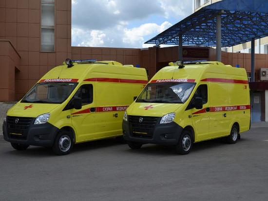В автопарке Тамбовской областной больницы появились новые реанимобили