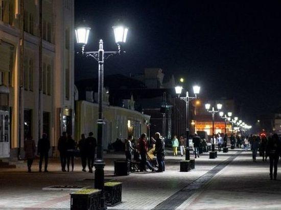 Барнаульские энергетики «проводят свет»  на местный Арбат