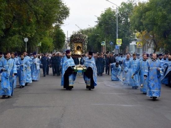 Оренбуржцы совершат Крестный ход с иконой Табынской Божией Матери