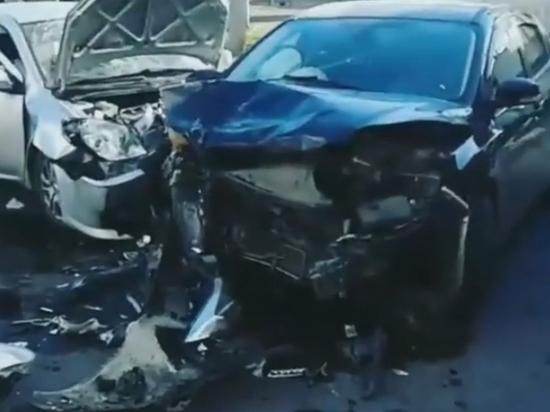 Соцсети: в Оренбурге на улице Котова произошла смертельная авария
