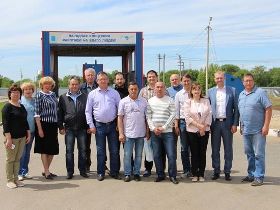 В Энгельсском Экотехнопарке с рабочим визитом побывали представили общественности Челябинской области