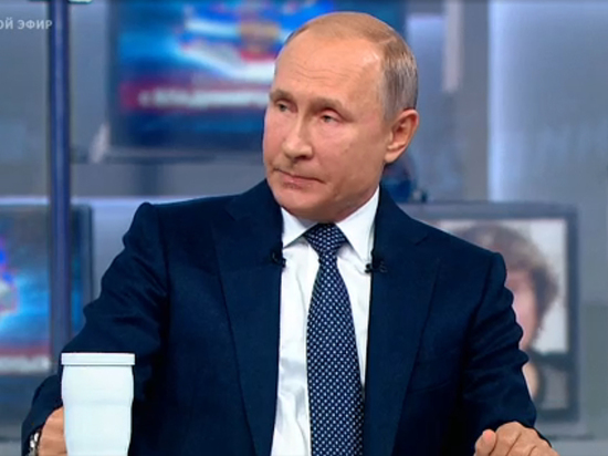 Путин ответил на вопрос о повышении налогового бремени
