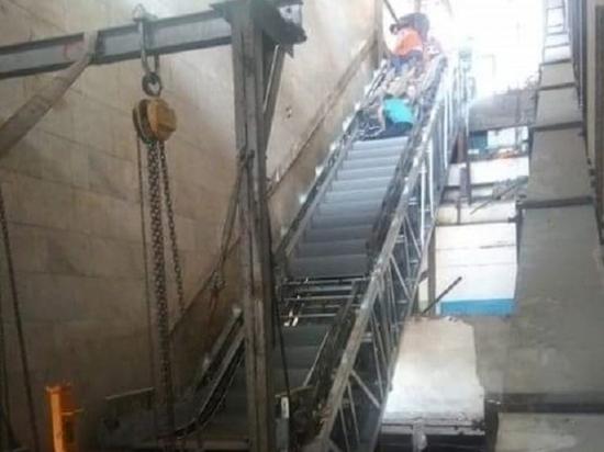 На «Пионерской» станции СТ в Волгограде запустят эскалатор