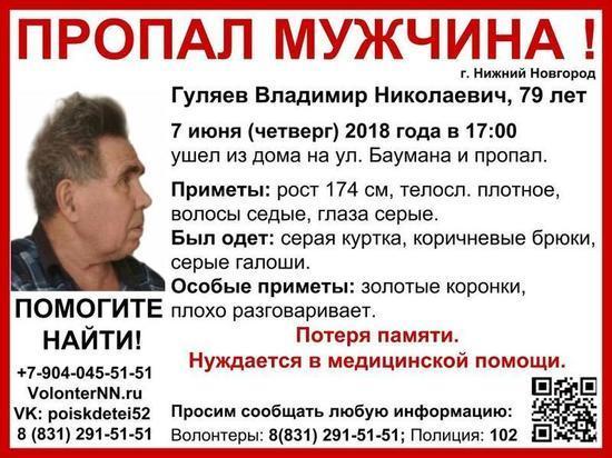 Владимир Гуляев объявлен в розыск в Нижнем Новгороде