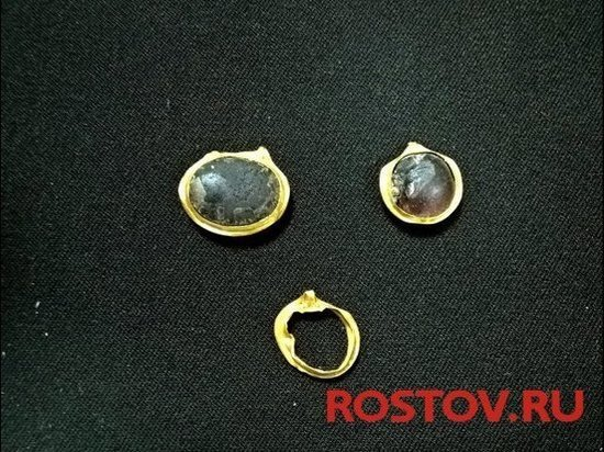 В Ростове при раскопках было найдено золото меотов