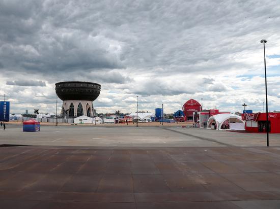 В Казани закончили готовить площадку под фан-фест ЧМ-2018