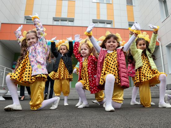 В казанском ЖК «Весна» открылся новый детсад на 340 мест
