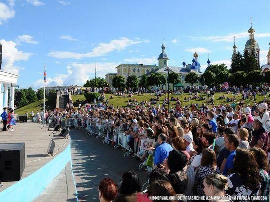 На День города тамбовчан ждет насыщенная праздничная программа