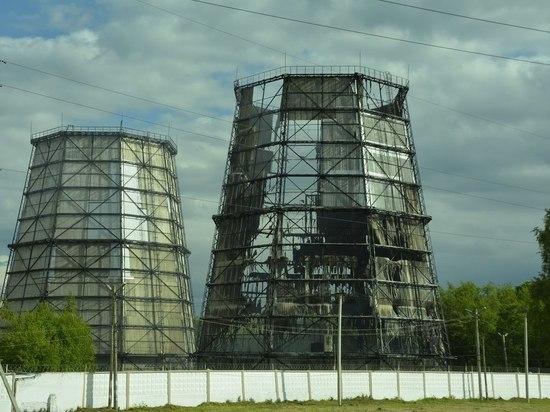 В Саранске горела ТЭЦ-2