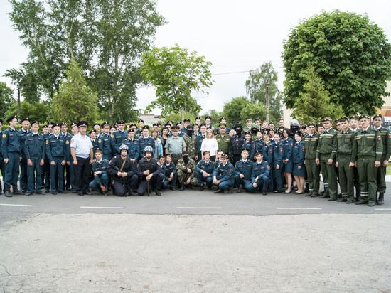 В Управлении Росгвардии по Курской области отметили День России