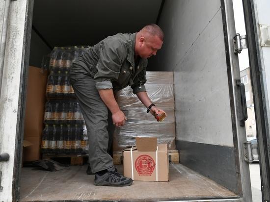 Карелия отправила семь тонн продуктов в детдома Донецка