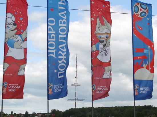 В Саранске развесили 11 тысяч флагов с символикой ЧМ-2018