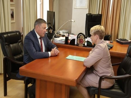 Губернатор поддержал кандидатуру Светланы Грачевой на должность главы Кадуйского района