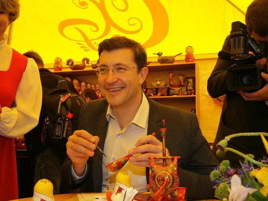 Глеб Никитин принял участие в фестивале «Золотая хохлома 2018»