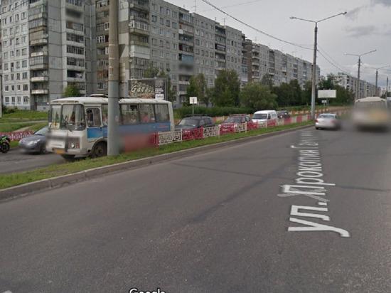 В среду на две недели перекроют улицу Галушина в Архангельске