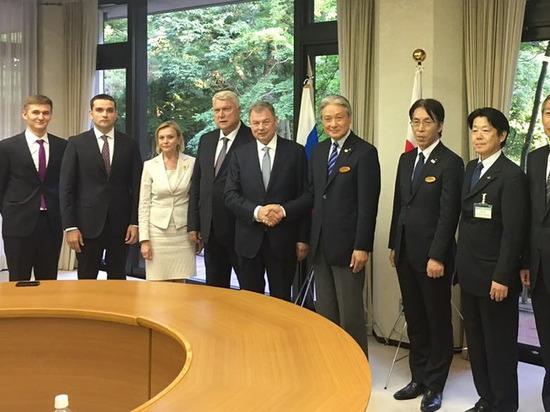 Артамонова познакомили с организацией системы туризма японской префектуры Тотиги