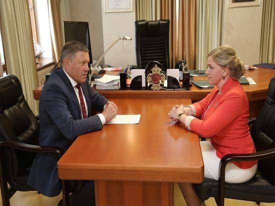 Глава Вологодчины поставил перед администрацией Бабушкинского района задачи на среднесрочную перспективу