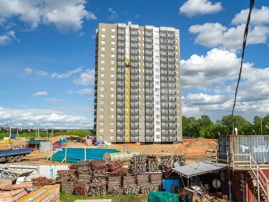 С начала года в Татарстане построено жилья почти 47 процентов от запланированного