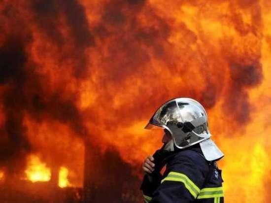 В Бердах в СНТ «Энергетик»  накануне сгорел  жилой дом