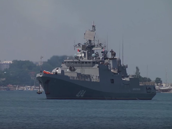 Балтийский и Черноморский флот провели последние тренировки перед ЧМ-2018