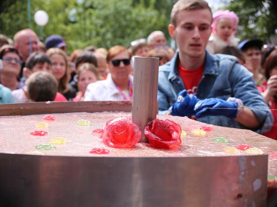 Огромная мармеладка, приготовленная в Тверской области, попадёт в Книгу рекордов