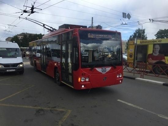На ярославский маршрут вышел суперсовременный троллейбус: Wi-Fi, подзарядки, комфорт