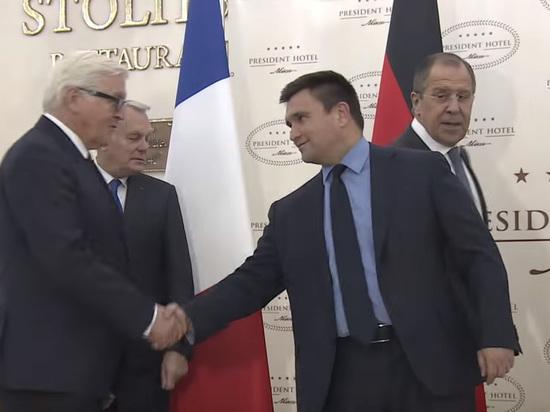«Нормандская» встреча: ВБерлине предчувствуют тяжелый разговор сЛавровым