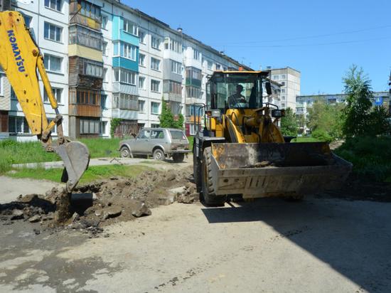 В Бийске благоустроят 77 дворов, бульвар и парк в 2018 году