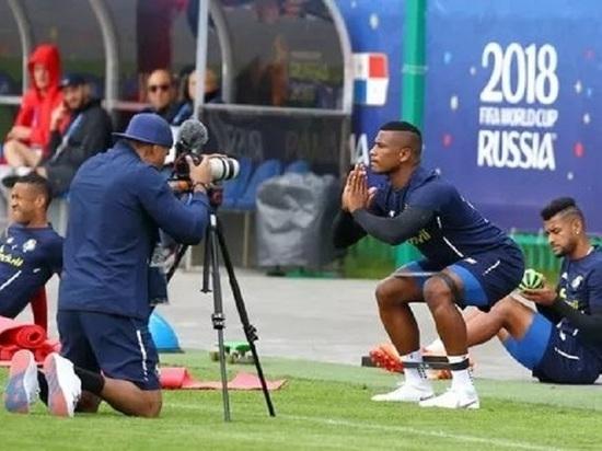 В Саранске сборная Панамы продолжает тренировки перед ЧМ-2018