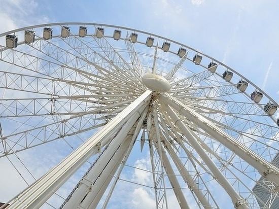 Скоро в Самаре установят колесо обозрения