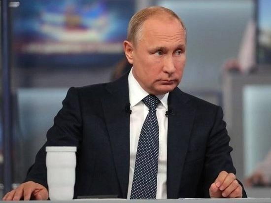 На прямой линии с Владимиром Путиным обсуждали Сахалинскую область