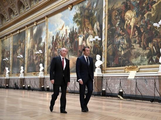 Макрон: Путину необходимо сделать один шаг для возвращения РФ в G7