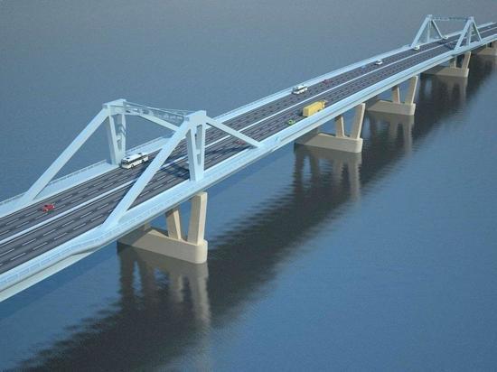 На строительство Фрунзенского моста выделят 1,5 млрд рублей из федерального бюджета