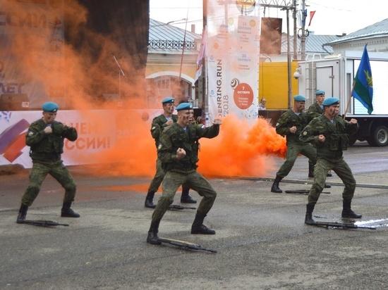 Пример мужества и патриотизма продемонстрировали бойцы 331-го гвардейского парашютно-десантного Костромского полка